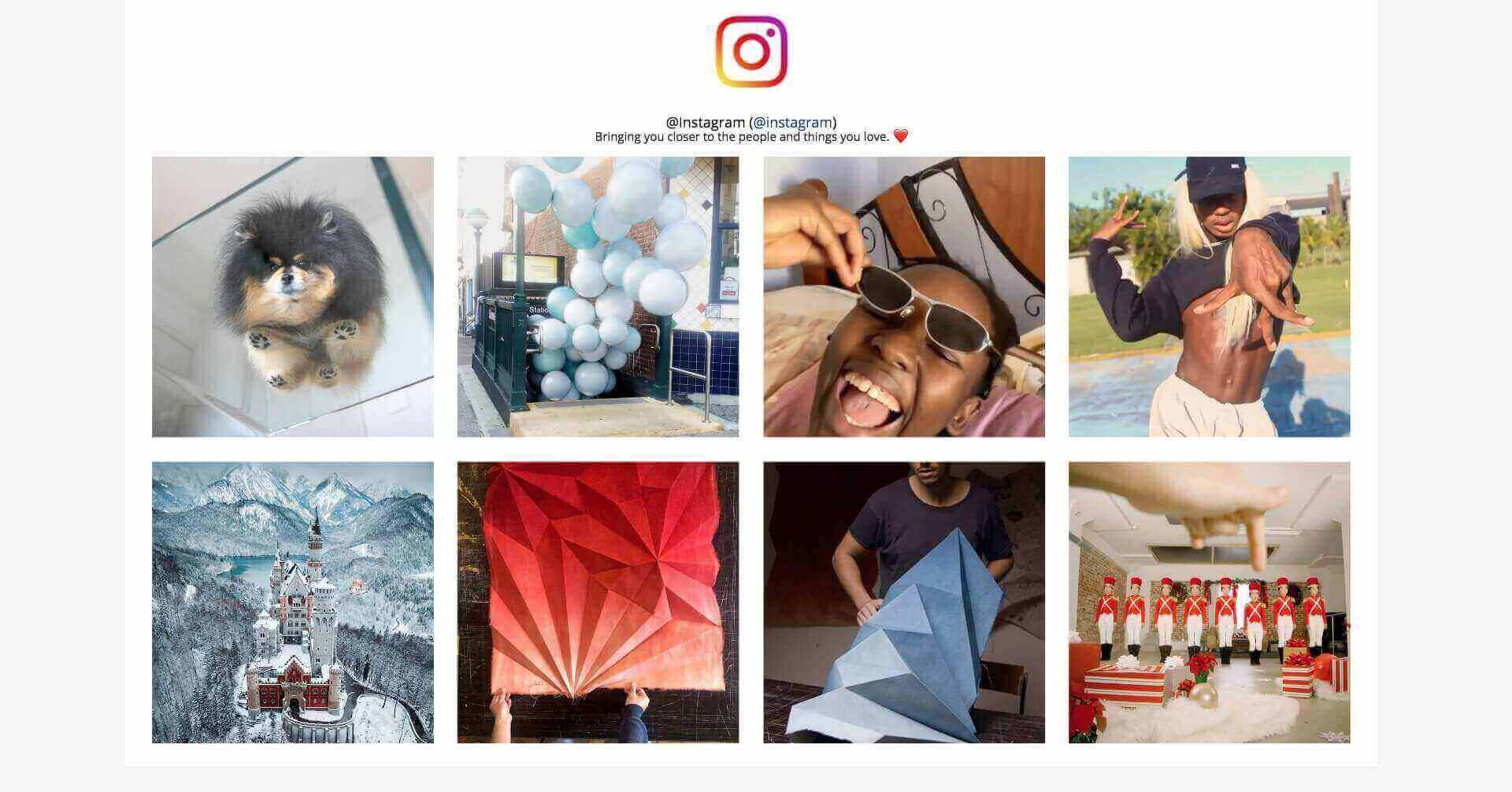 Instagram Feed Without the API