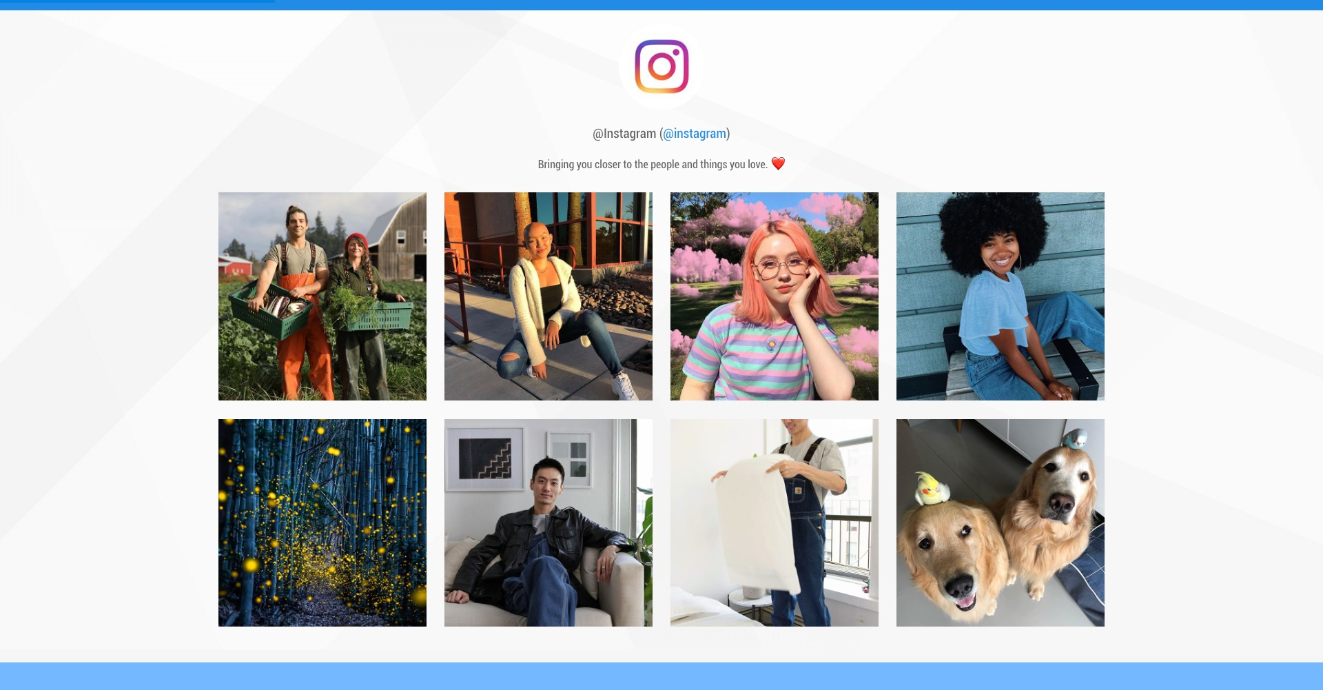 """Instagram Feed Without the API"""